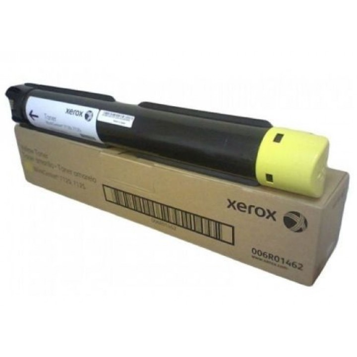 Тонер-картридж Xerox WC 7120/7125/7220/7225, 15К (О) жёлтый 006R01462