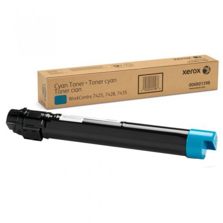 Тонер-картридж Xerox WC 7525/7530/7535/7545/7556/7830/7835, 15К (О) голубой 006R01520