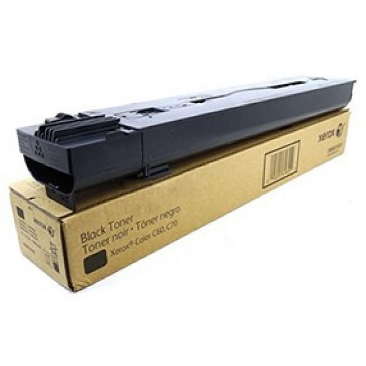 Тонер-картридж Xerox Color C60/C70, 30К (О) чёрный 006R01659