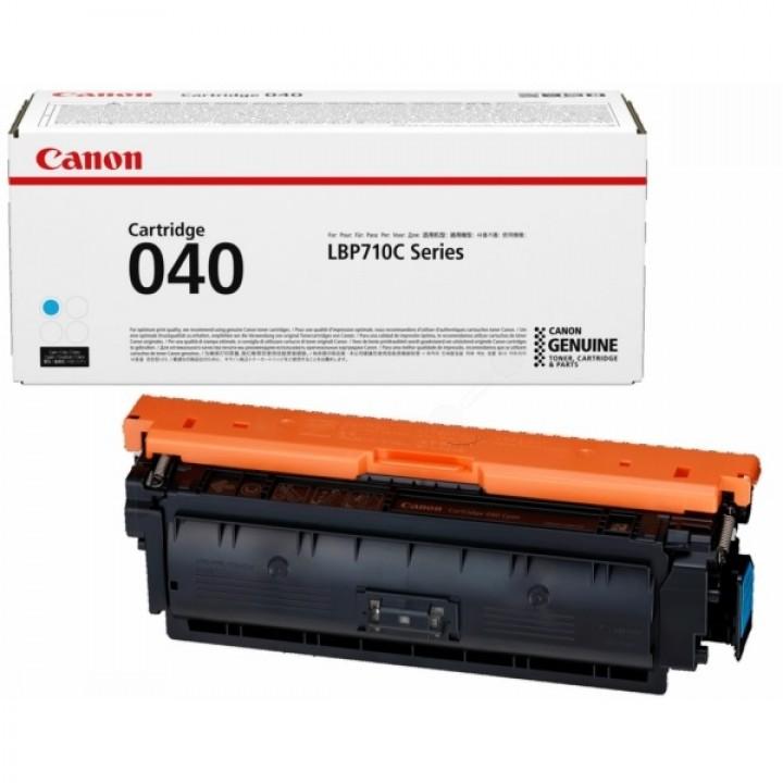 Тонер-картридж 040 C i-SENSYS LBP712Cx 5.4К (О) голубой 0458C001