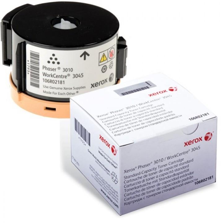 Заправка картриджа Xerox 106R02181 3010/3040/WC3045