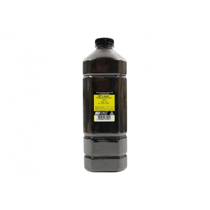 Тонер Hi-Black Универсальный для HP Laser 107а, Тип 1.9, Bk, 700 г, канистра