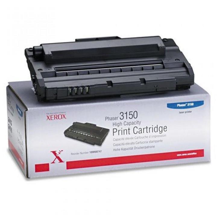 Заправка картриджа Xerox 109R00747 Phaser 3150