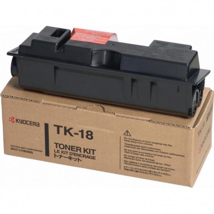 Картридж TK-18 Kyocera FS-1020D/1018MFP/1118MFP, 200г, 7,2K (O) 1T02FM0EU0