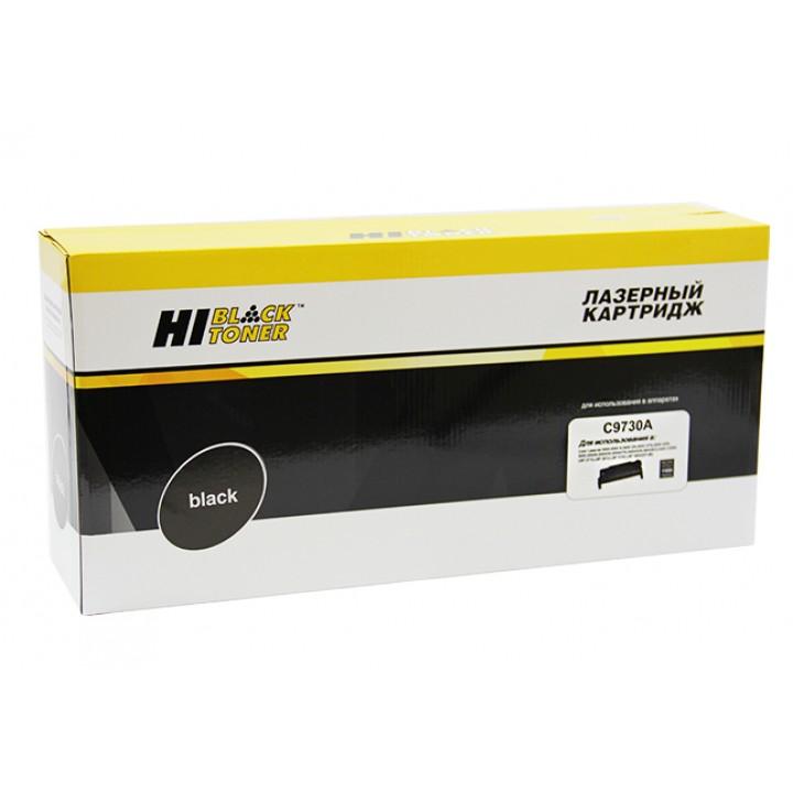 Картридж C9730A для принтера HP CLJ 5500/5550, Восстановленный, Bk, 13K