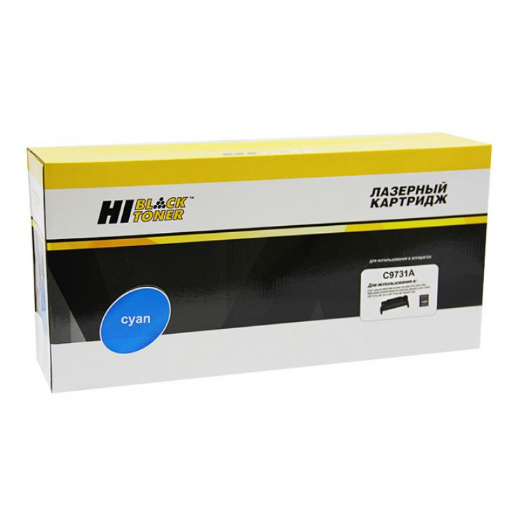Картридж C9731A для принтера HP CLJ 5500/5550, Восстановленный, C, 12K