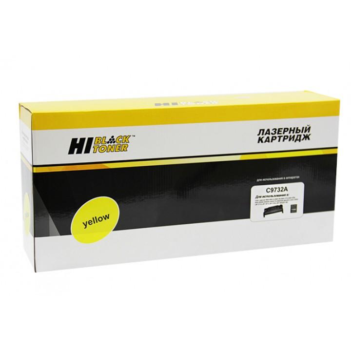 Картридж C9732A для принтера HP CLJ 5500/5550, Восстановленный, Y, 12K