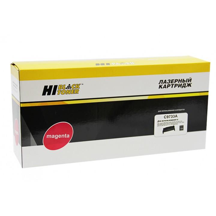 Картридж C9733A для принтера HP CLJ 5500/5550, Восстановленный, M, 12K HI-BLACK C9733A