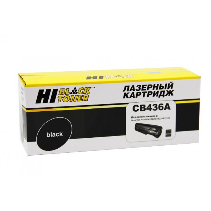 Картридж CB436A для принтера HP LJ P1505/M1120/M1522, 2K