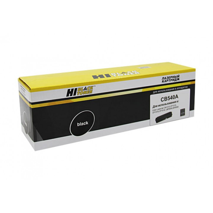 Картридж CB540A для принтера HP CLJ CM1300/CM1312/CP1210/CP1215, Bk, 2,2K