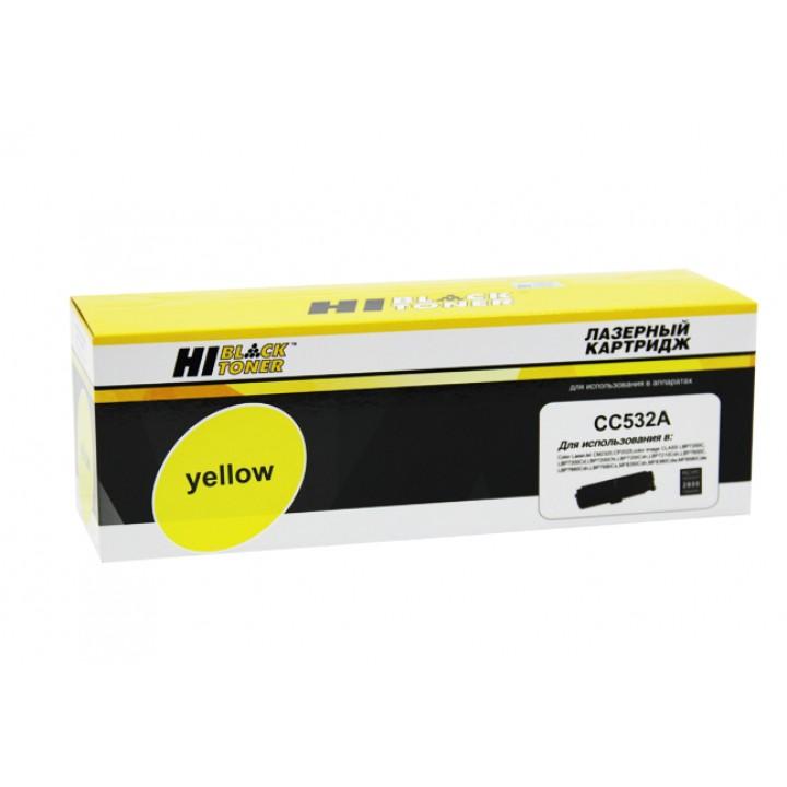 Картридж CC532A/№ 718 для принтера HP CLJ CP2025/CM2320/Canon LBP7200, Y, 2,8K