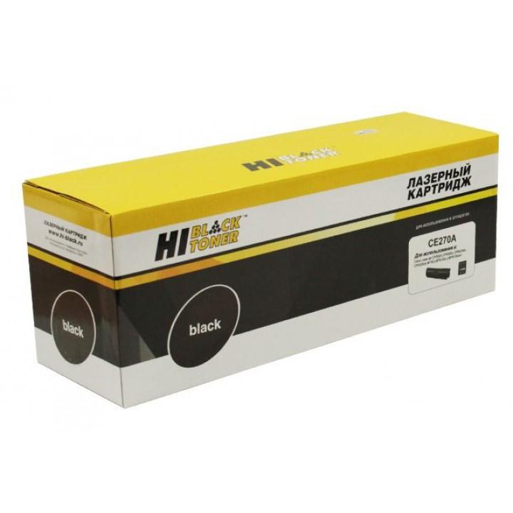 Картридж CE270A для принтера HP CLJ CP5520/5525/Enterprise M750, Восстанов, Bk, 13,5K
