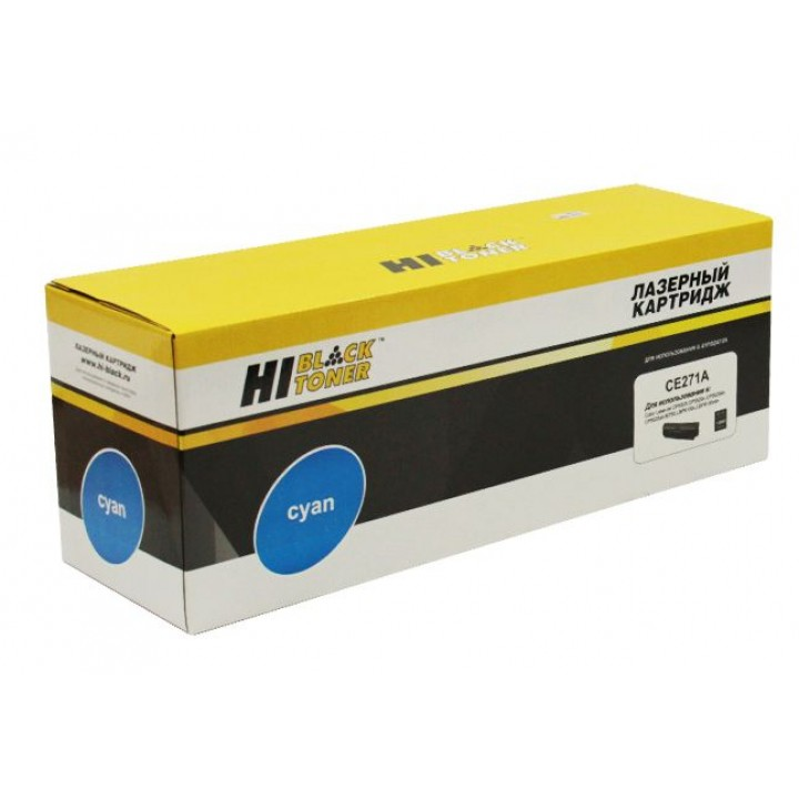 Картридж CE271A для принтера HP CLJ CP5520/5525/Enterprise M750, Восстанов, C, 15K