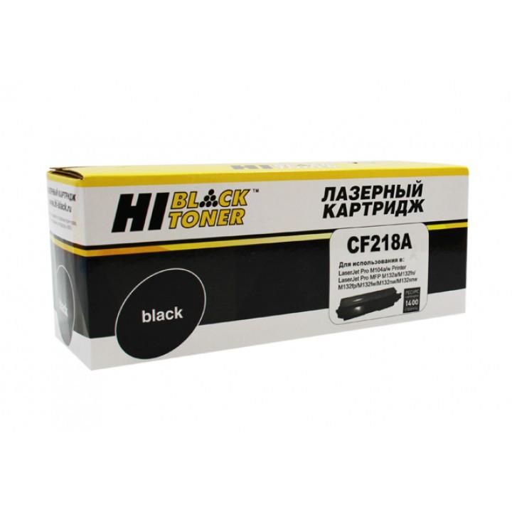 Тонер-Картридж CF218A для принтера HP LJ Pro M104/MFP M132, 1,4K (с чипом
