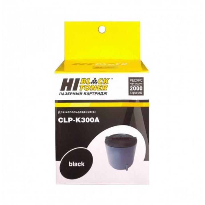 Тонер-картридж CLP-K300A для принтера Samsung CLP-300/300N/CLX-2160/N/3160N/FN, Bk,2K