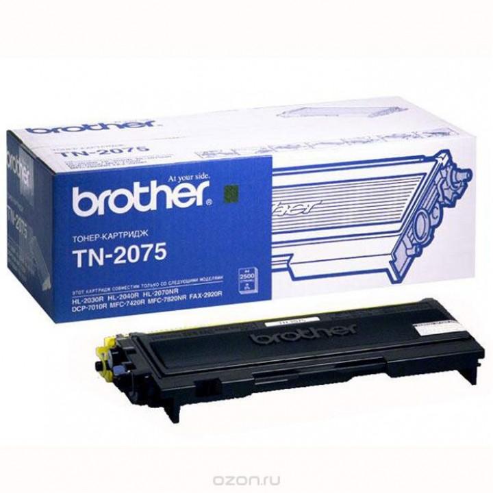 Заправка картриджа BROTHER TN-2075 DCP7030/32/40/45/HL2140/42/50/70/MFC7320/7440/7840