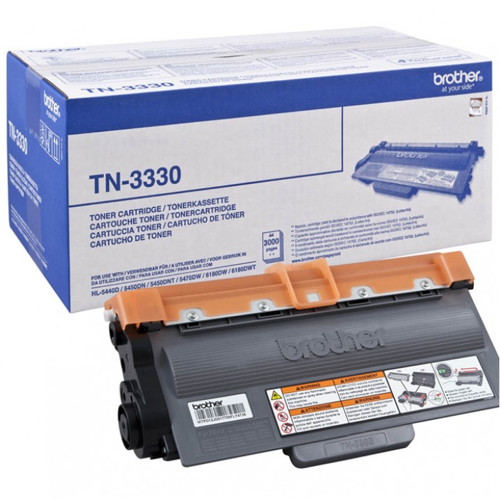 Заправка картриджа Brother TN-3330 HL5440/5450/5740/6180/DCP8110/8250/MFC8520/8950 Brother TN-3330