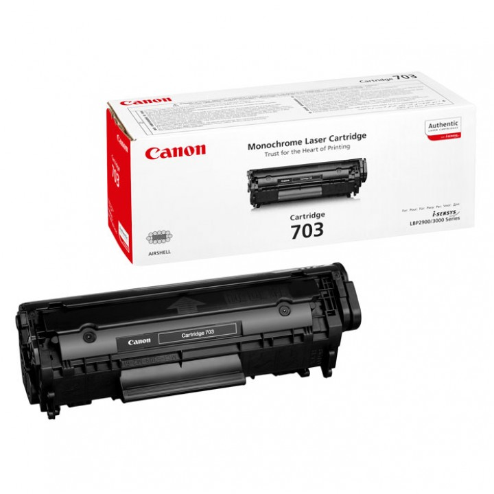 Заправка картриджа CANON 703 LBP2900/3000