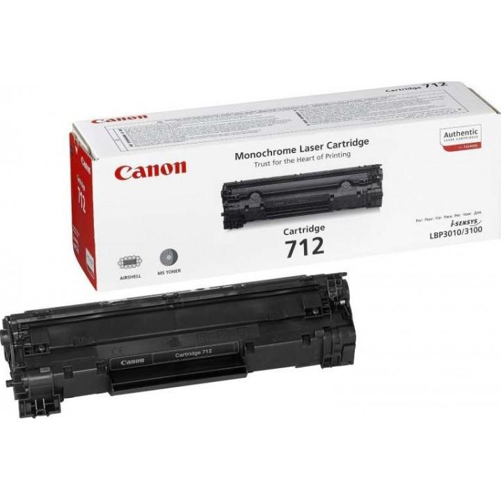 Заправка картриджа CANON 712 LBP3010/3100