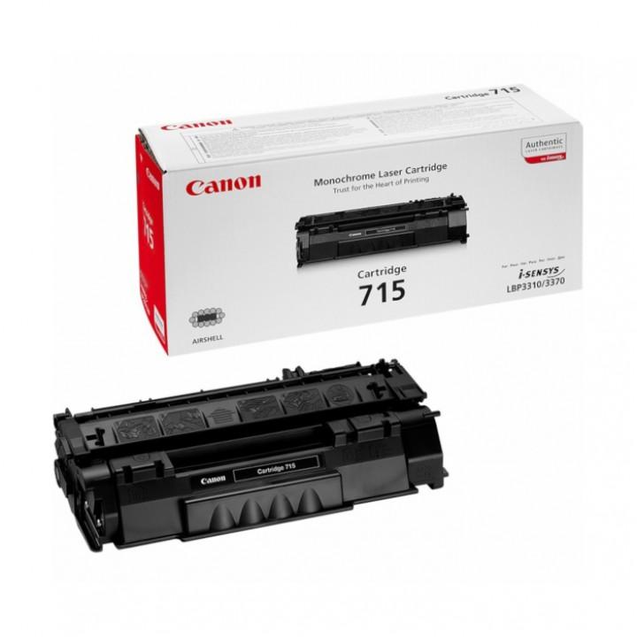 Заправка картриджа Canon 715 LBP3310/3370