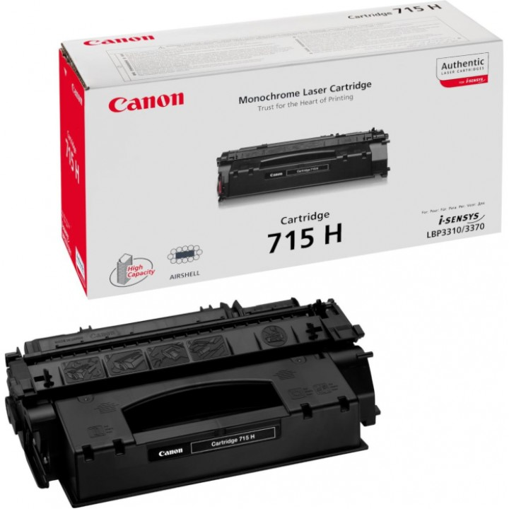Заправка картриджа Canon 715Н LBP3310/3370