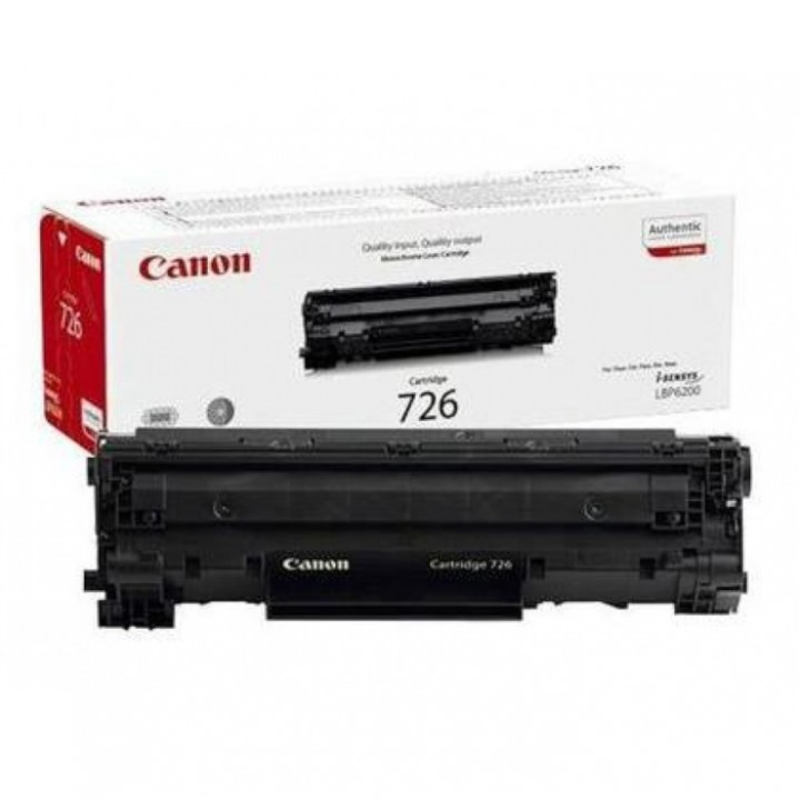 Заправка картриджа CANON 726 LBP6200