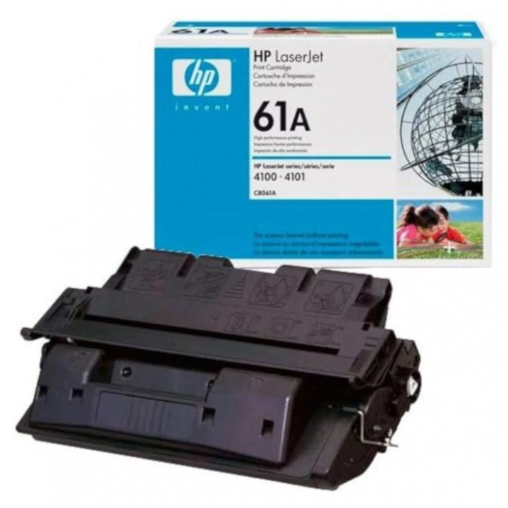 Заправка картриджа HP C8061А LJ 4100