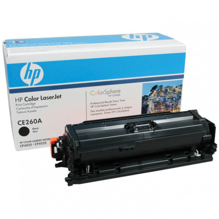 Заправка картриджа HP CE260-1-2-3A CLJ CP4025