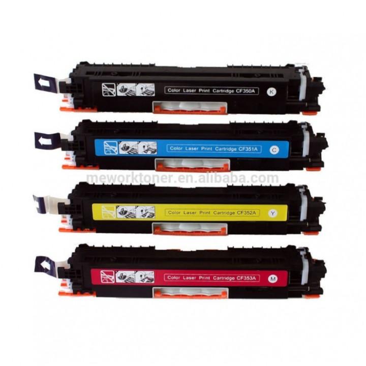 Заправка картриджа HP CF350-1-2-3A CLJ Pro M176/177MFP