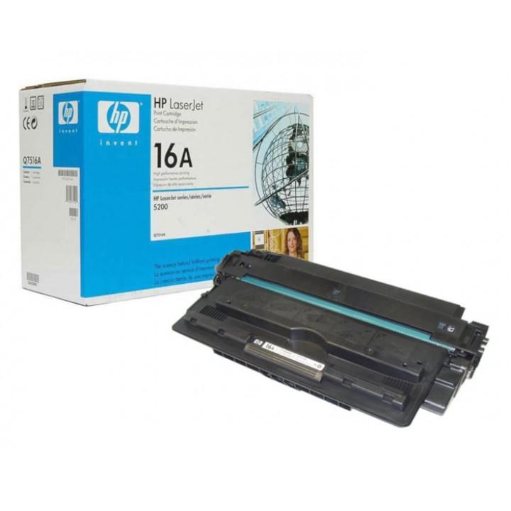 Заправка картриджа HP Q7516A LJ 5200