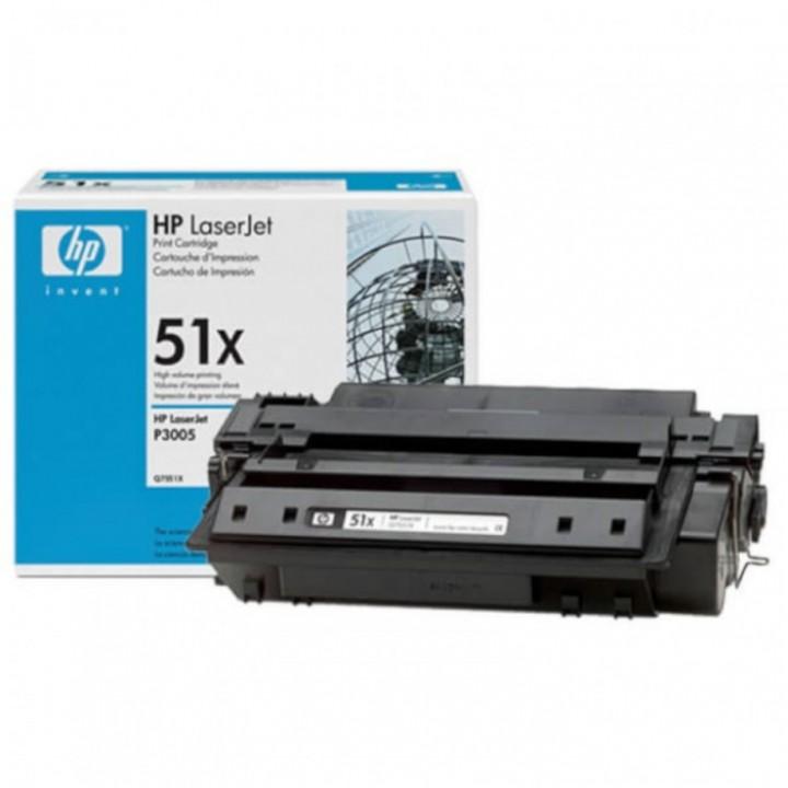 Заправка картриджа HP Q7551X LJ P3005/M3027/3035