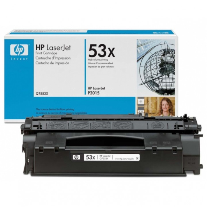 Заправка картриджа HP Q7553X LJ P2014/2015/M2727