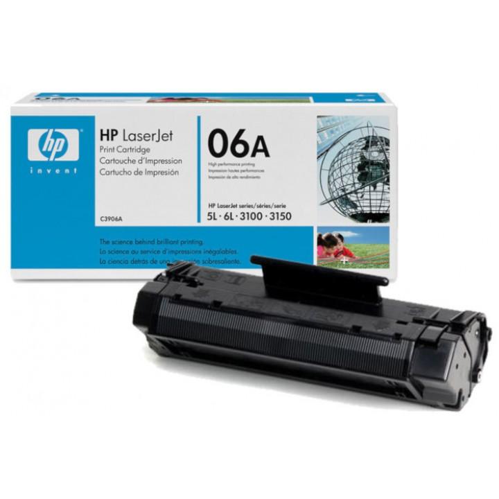 Заправка картриджа HP С3906А LJ 5L/6L/3100/3150