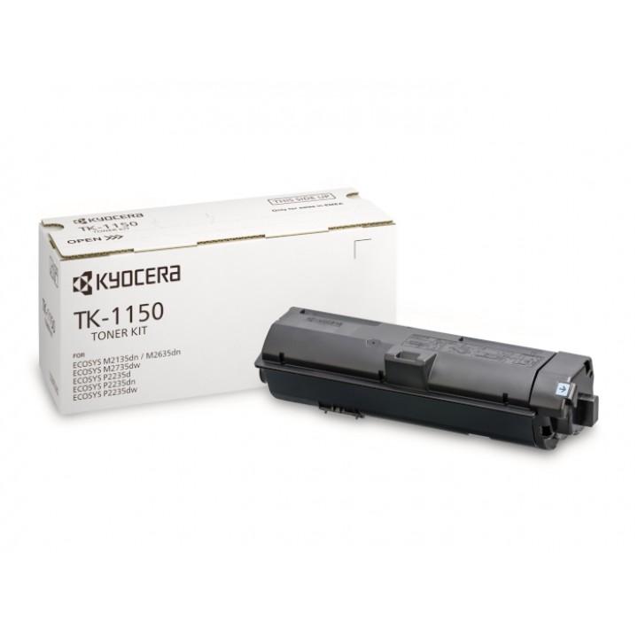 Тонер-картридж TK-1150 Kyocera M2135dn/M2635dn/M2735dw/P2235dn/P2235dw, 3К (О)