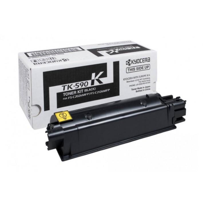 Заправка картриджа Kyocera TK-590 FS-C5250/C2026/C2126/C2526/C2626/ECOSYS P6021/P6026