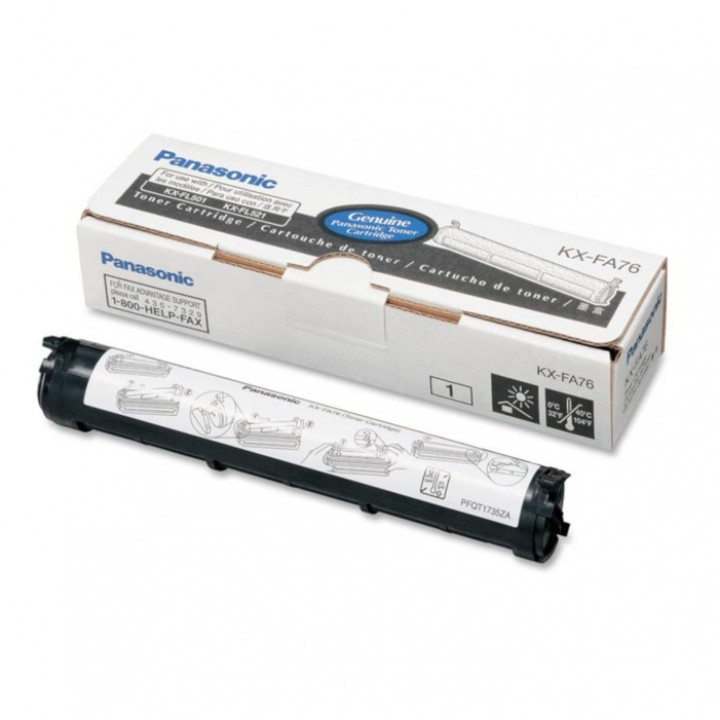 Заправка картриджа Panasonic KX-FA76A KX-FL501/502/503/523/753/758