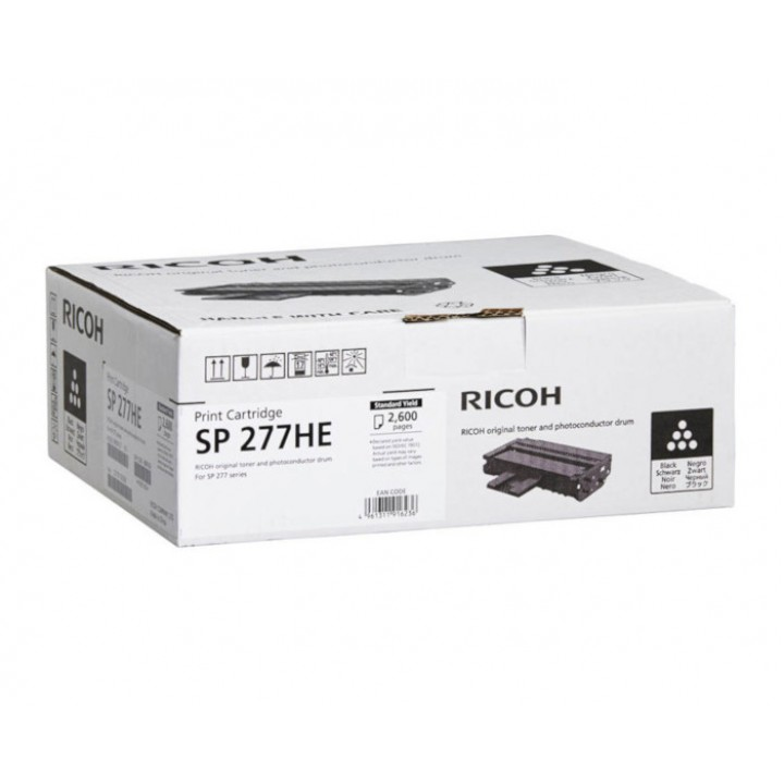 Заправка картриджа RICOH SP277HE SP277