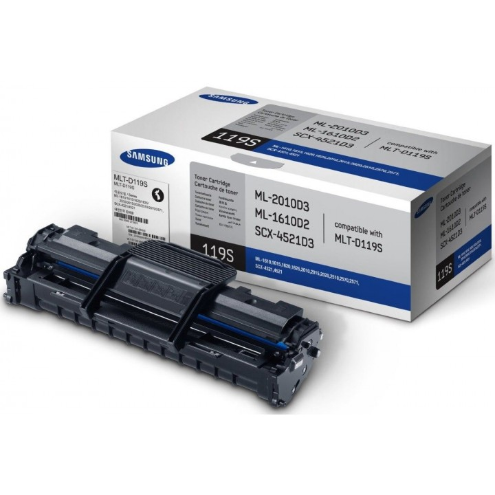 Заправка картриджа Samsung MLT-D119S ML1610/2010/SCX4321/4521