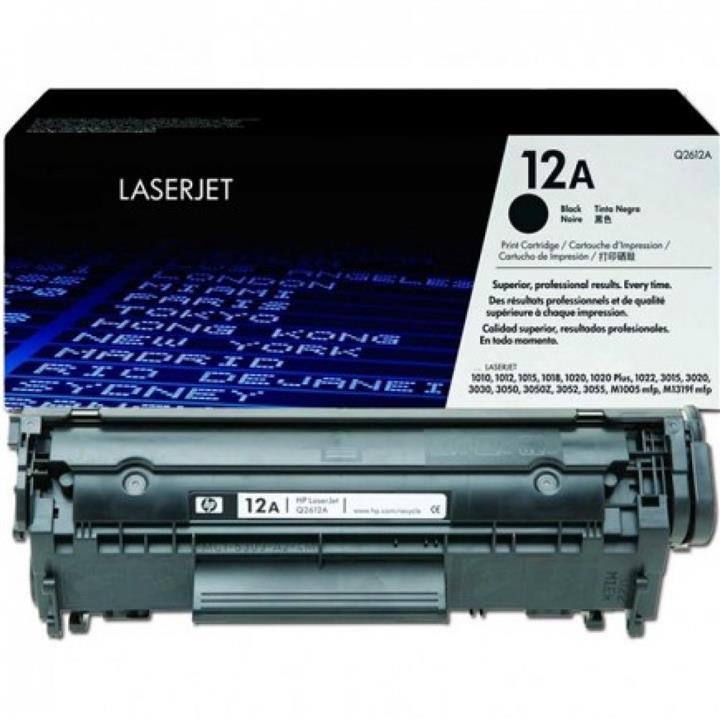 Картридж Q2612A-LR для принтера HP LJ 1010/1020/3050, картридж+заправка, 5K