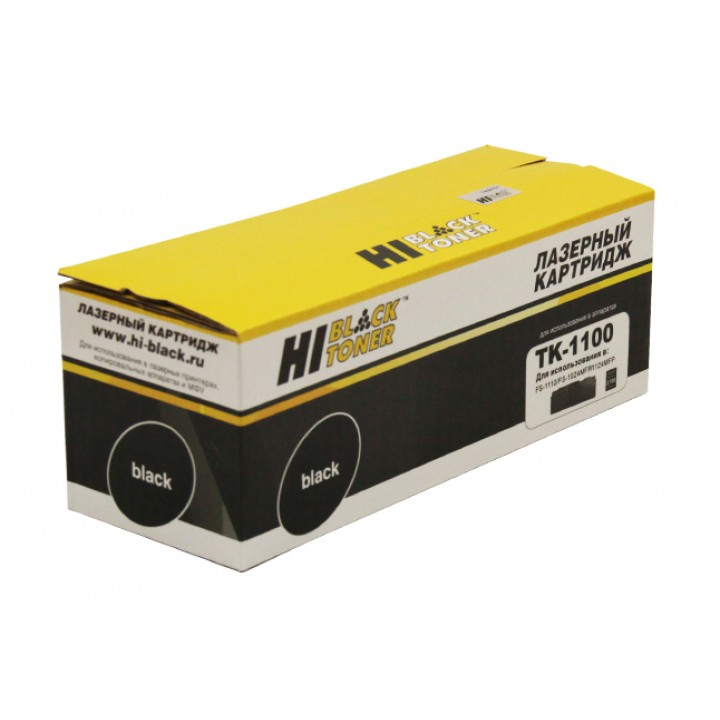 Тонер-Картридж TK-1100 для принтера Kyocera-Mita FS-1110/1024MFP/1124MFP, 2,1K