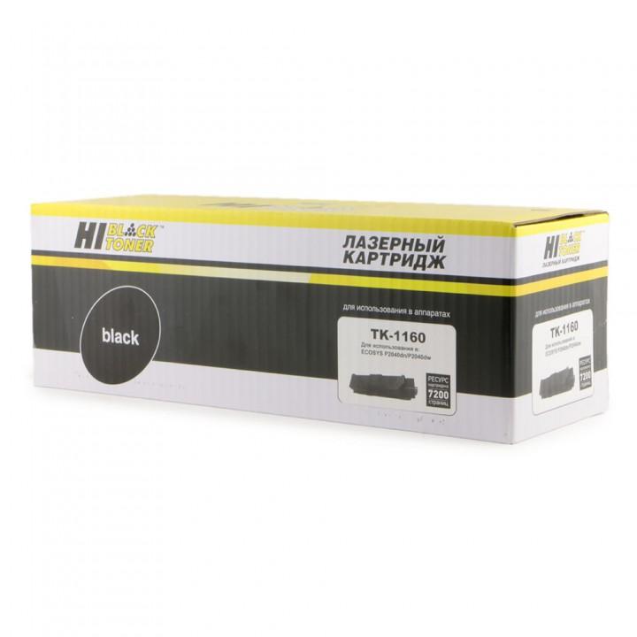 Тонер-Картридж TK-1160 для принтера Kyocera-Mita P2040dn/P2040dw, 7,2K, с чипом