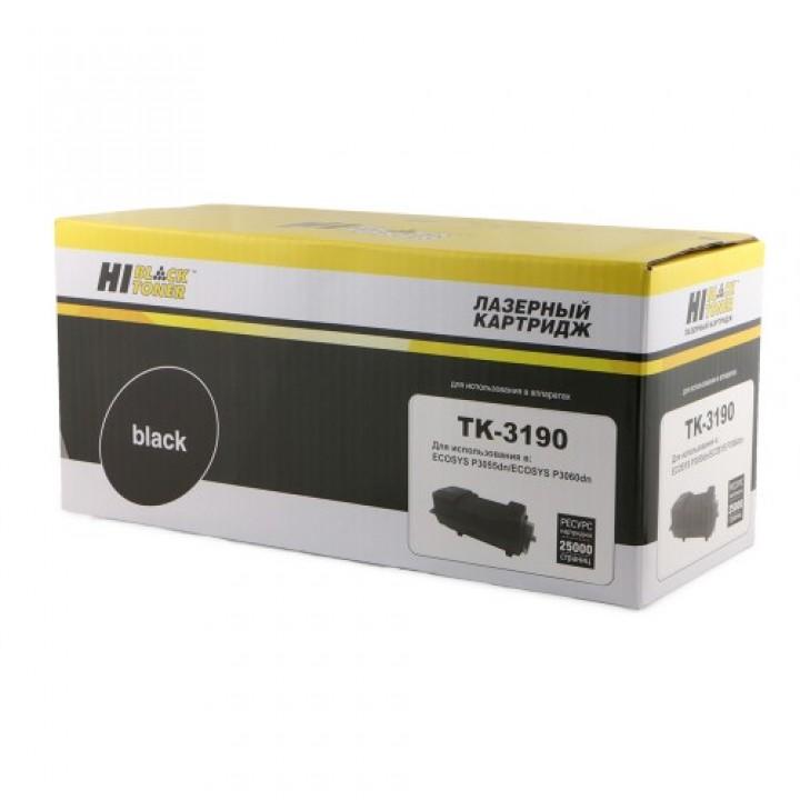 Тонер-Картридж TK-3190 для принтера Kyocera-Mita P3055dn/P3060dn, 25K, без чипа
