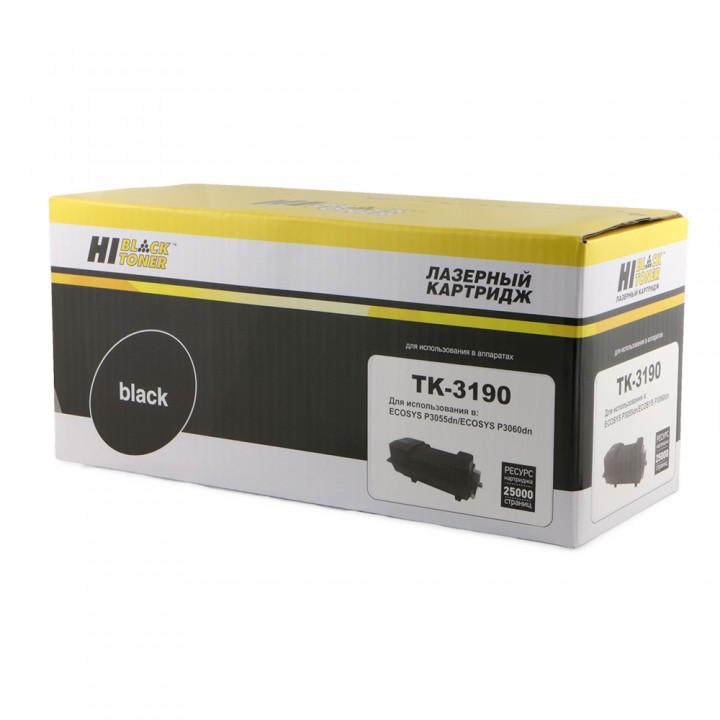 Тонер-Картридж TK-3190 для принтера Kyocera-Mita P3055dn/P3060dn, 25K, с чипом
