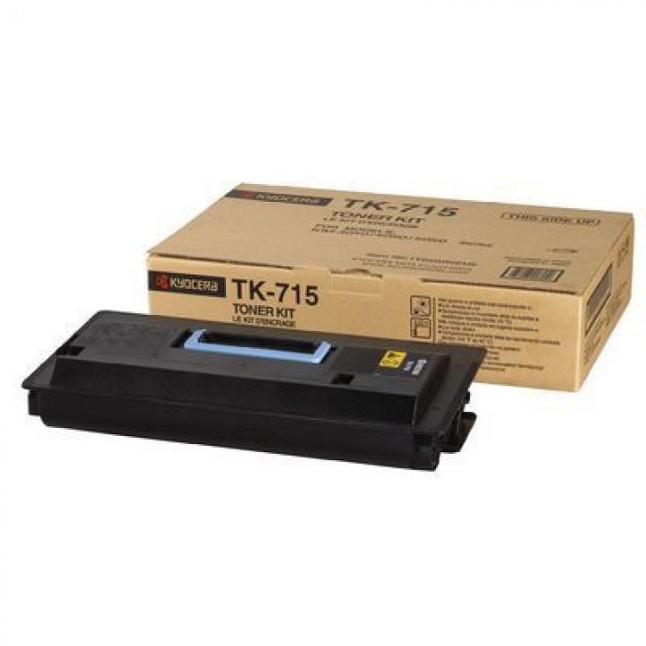 Заправка картриджа TK-715 Kyocera Mita KM 3050/4050/5050