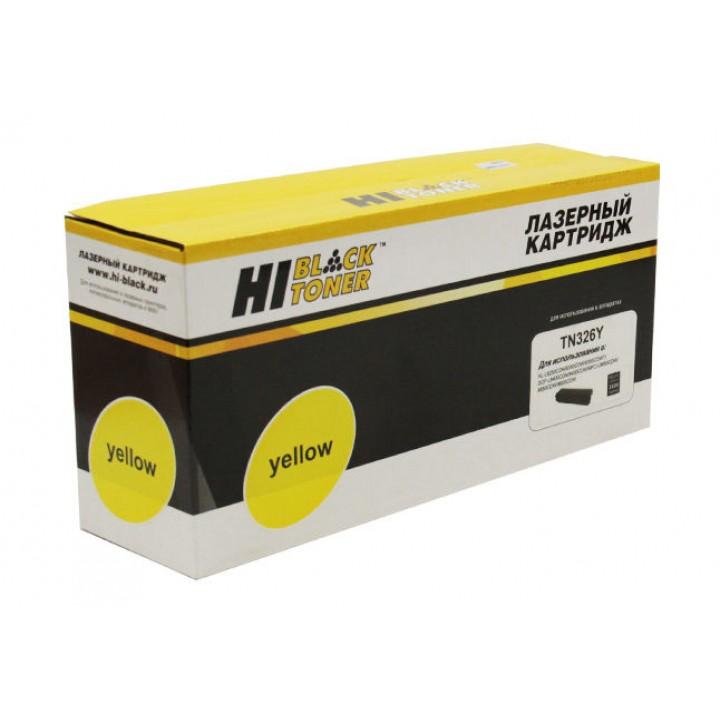 Тонер-картридж TN-326Y для принтера Brother HL-L8250CDN/8350CDW/8350CDWT, Y, 3,5K
