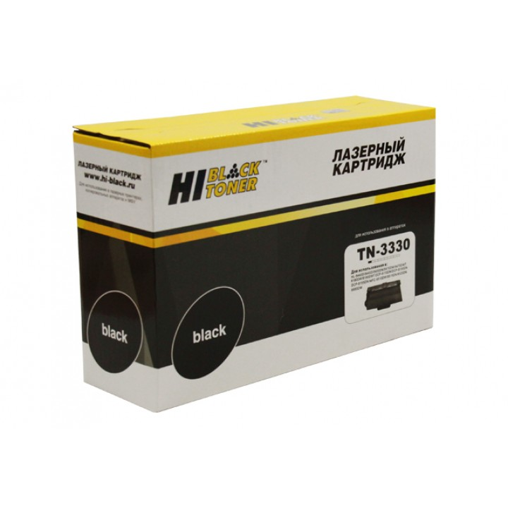 Тонер-картридж TN-3330 для принтера Brother HL-5440D/5445/5450DN/5470DW/6180DW, 3K