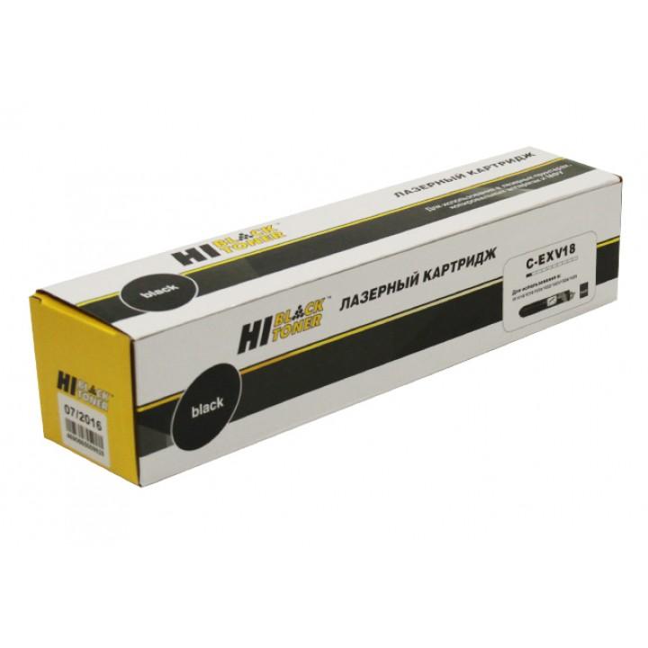 Тонер-Картридж C-EXV18 для принтера Canon iR-1018/1020/1022/1024, туба, 8,4K